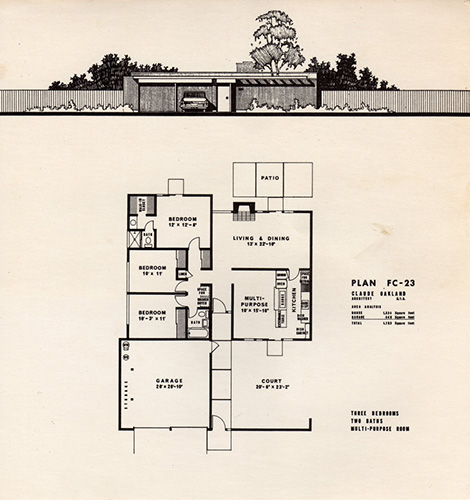 Foster city eichler floorplans kevin gardiner for Eichler house plans